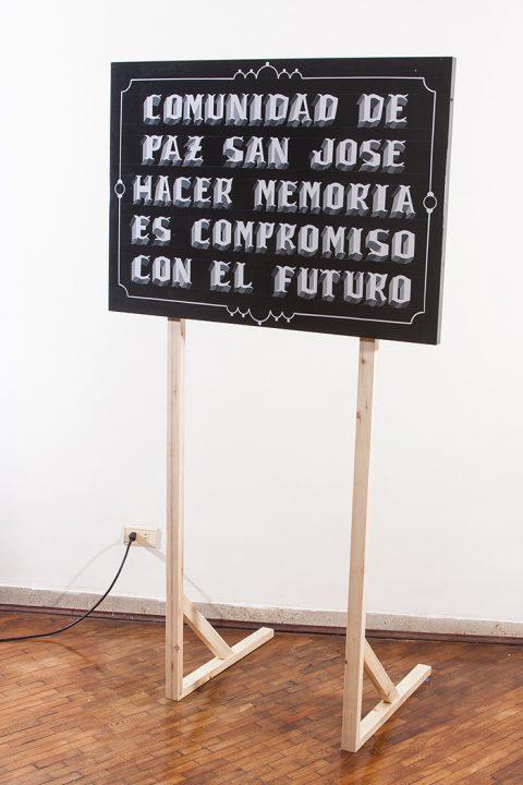 "Serie ""Letreros"""