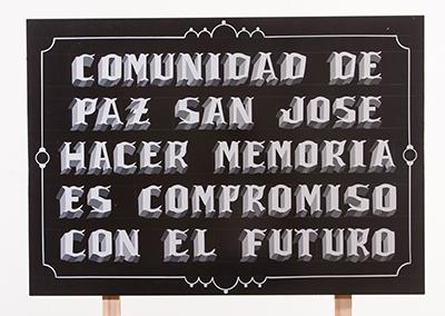 Hacer memoria es el compromiso con el futuro