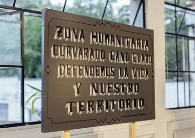 Muestra colectiva «Hacer memoria es el compromiso con el futuro» en Policroma, Colombia